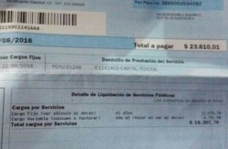 San Telmo deberá abonar una factura de $23.000 por el servicio de Aguas Argentinas. La anterior fue de $4.000