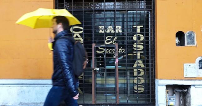 Cerraron 120 comercios en San Telmo
