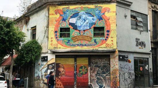 Declaración de Interés Cultural al Mural de Leonardo Favio