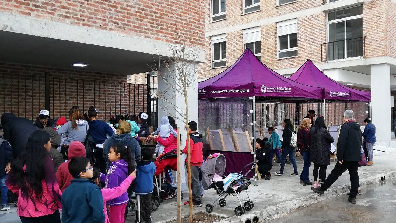 """Inauguración del patio gastronómico """"Rodrigo Bueno"""""""