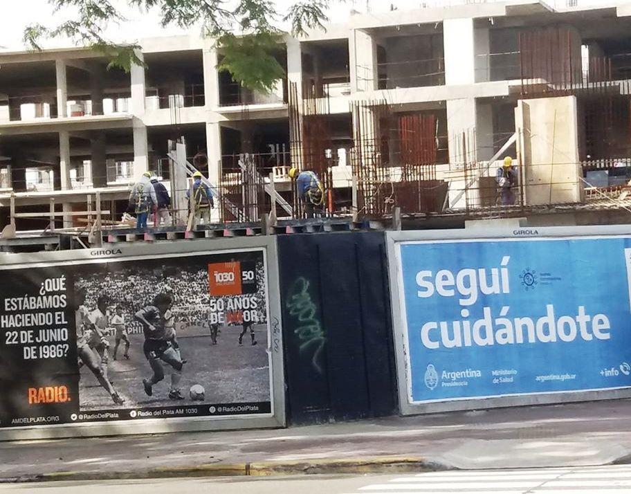«El Astor San Telmo contiene una obra ilegal»