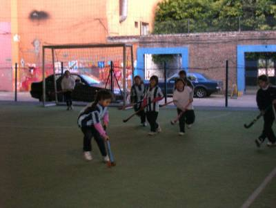 Chicas de Hockey de San Telmo